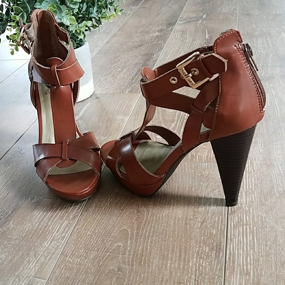 3adca1133072 G by Guess Shoes - Guess Brown👠Platform Sandals Heels Size 6